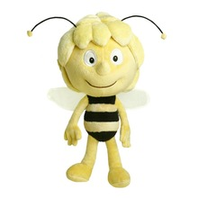 New apprival Maya bee plush toy good quality custom insect plush toy Lovely bee stuffed toy