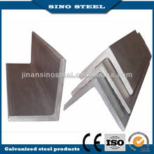 Steel structure equal angle steel bar with Q235,SS400 material