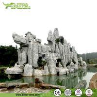 Classical Chinese Garden Fiberglass Artificial Rock