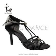 2015 new high heel shiny diamante latin dance shoes