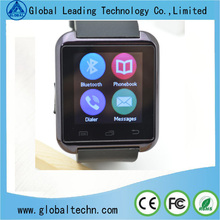 2015 Creative Fashion MTK6260 bluetooth sync smart watch mobile phone