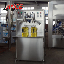 semi automatic cooking oil filling machine with 2 heads
