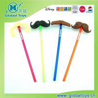 HQ8140 Mustache straw with EN71 standard for drinking