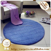lastest new 100% polyester Anti-slip memory foam dog mat / bath mat / pet mat
