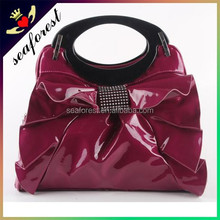 2015 fashion high quality ladies PU shoulder bag handbags