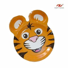 Animal party decoration paper plate
