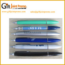 Cheap Price Advertisitng Plastic Imprint LOGO Click Ballpoint Pens