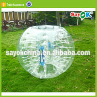 Grass adult human bubble ball colorful pvc wublle bubble ball soccer