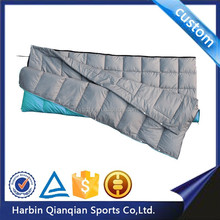 HS9621 outdoor colorful thickened material envelope sleeping bag