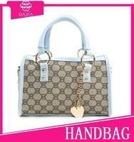 2015 Hot sale blue small cross body bag brand famous women handbags canvas bucket bag