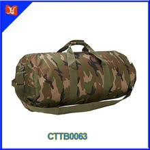 Custom Medium Size Outdoor Travel Army Duffle Bag