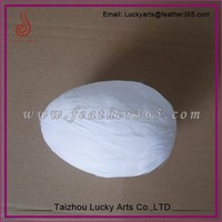 Taizhou lucky arts produce low price feather egg