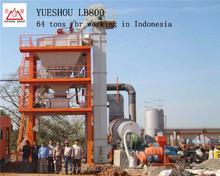 LB800 asphalt batch mix equipment