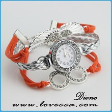fashion design cheap leather watches teenage , sport watch for woman