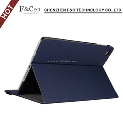 Hot cheap fold book pu cover for ipad mini 4 tablet case