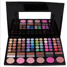 Hot sale high quality 78 color eye shadow palette professional makeup kit big makeup palette