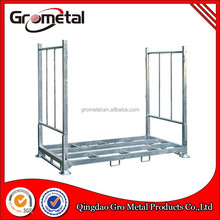 Hot sell Industrial Storage Steel Mesh folding Wire Rolling Storage Cage