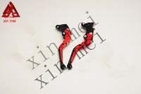 High quality customized Red Folding CNC motorcycle clutch brake lever