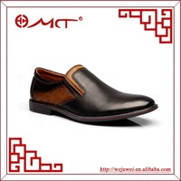 wenzhou brand name suede leather custom made mens dress shoes