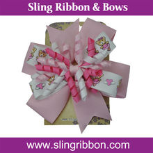 2014 Hot Selling Hair Bow On The Display Card