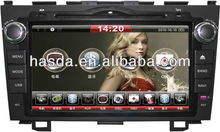 "8""high-resolution TFT - LCD, DVD, CD, MP3, car GPS navigator for HONDA CRV"