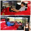 virtual reality simulation f1 car race simul