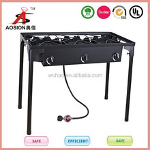 top sale cast iron high pressure 3 gas stoves