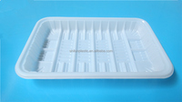 PP material Disposable Plastic Meat tray/ frozen food /sushi/meat/fruit/vegetable container For BBQ
