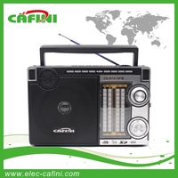 2015 NEW portable radio with USB/SD/FM/AM/MMC and LED light
