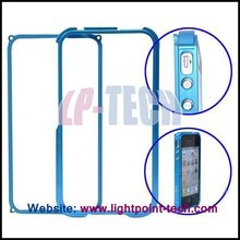 2012 New Blade Stytle Cell phone accessories Aluminum Metal Frame Cover for iPhone 4