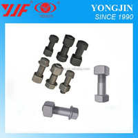China manufacturer 40Cr 10.9 grade black bolts and nuts