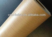PVC Wood Grain Self Adhesive Decoration Paper /Furniture PVC decorative film