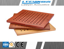 Hot sale Micro perforated aluminum gypsum acoustic panel for studio and office