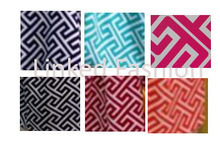 2014 wholesale Quatrefoil scarf factory lowest price inventory Greek Key Infinity Scarf