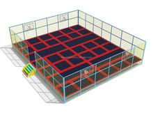 Jumping bed biggest trampoline rectangle trampoline