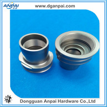 polished cnc milling aluminum bowl anodized parts
