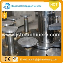 Chinese brand 2000bph auto linear type vodka/whisky/tequila filling line