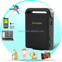 GSM global Quad band micro gps tracking device GPS102 with listen in /calling function