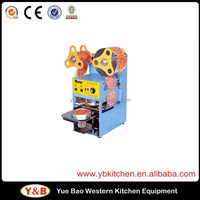 Automatic Bubble Tea Cup Sealing Machine / Automatic Cup Sealing Machine for Fruit Juice
