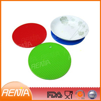 RENJIA silicone dining table placemats silicone heat insulation mats kitchen silicone mat
