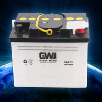 wholesale 12v dry charged car battery DIN64ah-56420 automotive battery supplier