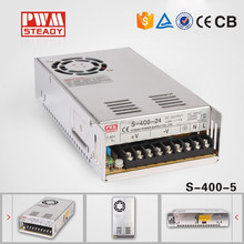Professional manufacturer 400W Single output power supply 5v 60a switch smps circuit ac to dc