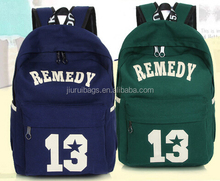 2015 Fashion sports canvas backpack