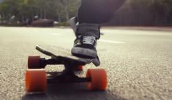 Landwheel 4 wheels longboard electric skateboard with dual motors