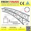 Aluminum Circular Lighting truss , Arch roof Truss