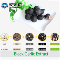aged black garlic extract liquid/Pure Natural Fermented Black Garlic Powder Extract