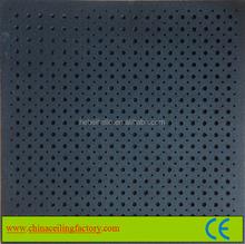 595x595x15mm sound insulation internal decoration material acoustic fiber ceiling tiles
