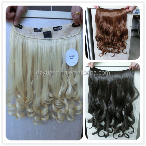 Wholesale Best Synthetic Hair Extensions Hair Piece Buy Synthetic