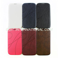 New Style Leather Case flip cover For Samsung S4 i9500 flip Cover With Stand