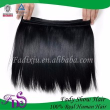 Nature black hair Russian hair 1# 2# 4# 100% human hair weave silky straight wholesale price